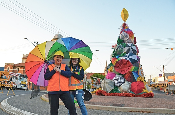 New Christmas tree carries on recycled tradition