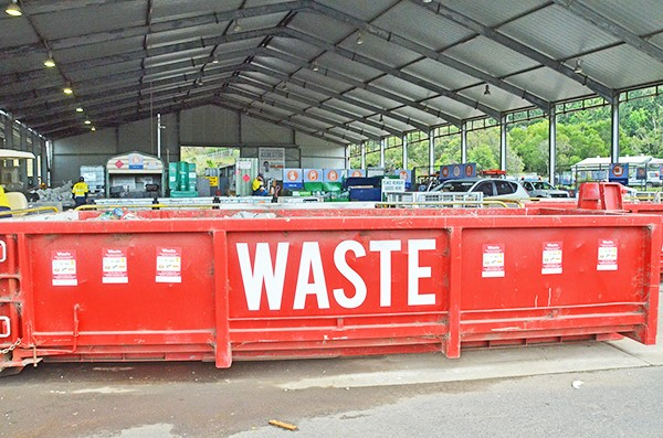 Recycling centre staged reopening begins