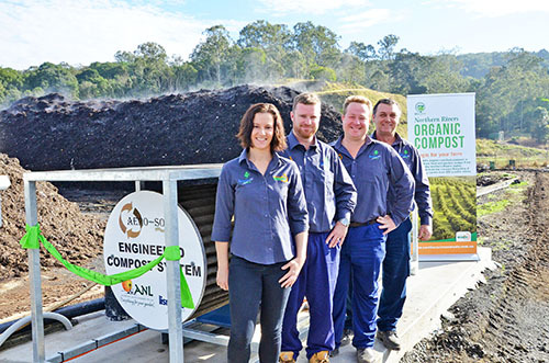 Biocycle system wins NSW composting award